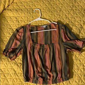 American eagle blouse cute fo dress up or down